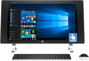 HP Envy 27-p120qe Core i5-6400T, 8GB RAM, 2160p Touch Display, AMD R9 A375