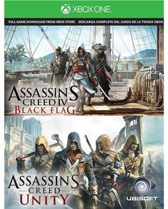 Assassin's Creed IV Black Flag & Assassin's Creed Unity (Xbox One) + Nyko Power Station