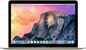 Apple MacBook Core M-5Y51, 8GB RAM, 256GB SSD - Refurbished (5K4M2LL/A, 5JY32LL/A, 5F855LL/A)