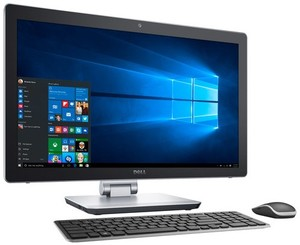 Dell Inspiron 23.8-inch All-In-One, Core i5-6300HQ, 12GB RAM, 1TB HDD + 32GB SSD, 3GeForce 940M