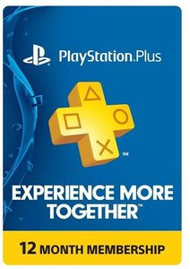 PlayStation Plus 12-Month Card