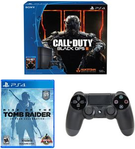 PlayStation 4 Black Ops 3 Bundle + Rise of Tomb Raider + Controller