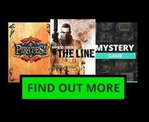 GMG Coupon on Golden Pack: Spec Ops: The Line + Sid Meier's Pirates! + Mystery Game