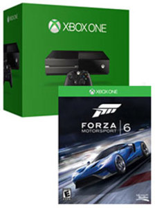 Xbox One 500GB Console + Forza 6