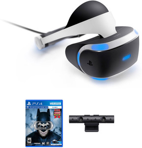 PlayStation VR Core Headset + Camera + Batman Arkham VR