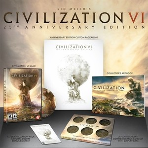 Sid Meier's Civilization VI 25th Anniversary Edition (PC DVD)