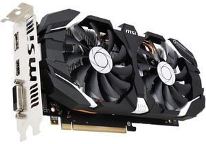 MSI GeForce GTX 1060 3GT OC Video Card