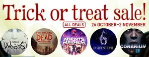 GamersGate Trick or Treat Sale