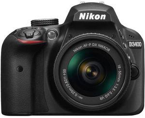 Nikon D3400 DSLR Camera + 18-55mm Lens (Refurbished) + Paintshop Pro X8