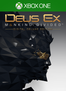Deus Ex: Mankind Divided - Digital Deluxe Edition (Xbox One Download) - Gold Required