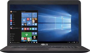 Asus X756UX Core i5-6200U, 12GB RAM, 1TB HDD, GeForce GTX 950M, 1080p