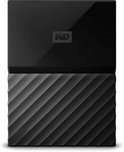 WD My Passport 1TB External Portable Hard Drive WDBYNN0010BBK