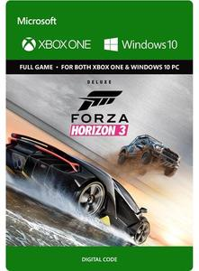 Forza Horizon 3 Deluxe Edition (Xbox One/PC Download) - Gold Required