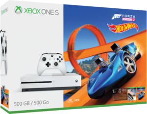 Xbox One S 500GB Forza Horizon 3 Hot Wheels Bundle + Free 3 Games