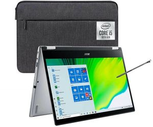 Acer Spin 3 Core i5-1035G1, 8GB RAM, 256GB SSD, 1080p IPS Touch (Refurbished) + Stylus & Sleeve (Price in Cart)