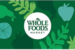 $50 Whole Foods Market Gift Card