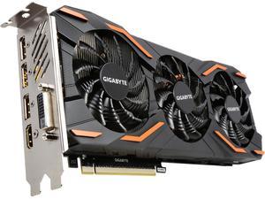 Gigabyte GeForce GTX 1080 8GB GV-N1080WF3OC-8GD Video Card
