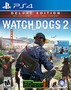 Watch Dogs 2 Deluxe Edition (PS4 Download)
