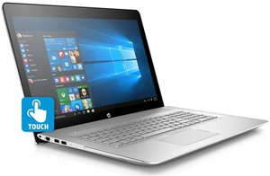 HP Envy 17t-u100 Core i7-7500U, 16GB RAM, 512GB SSD, GeForce 940MX, 4K Touch (Refurbished)