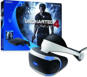 PlayStation 4 Slim Uncharted 4 Bundle + PlayStation VR