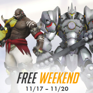 Overwatch Free Weekend (11/17 - 11/20)