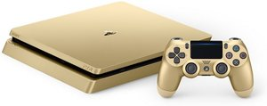 PlayStation 4 Slim 1TB Limited Edition Gold Console