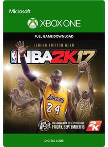 NBA 2K17 Legend Edition Gold (Xbox One Download)