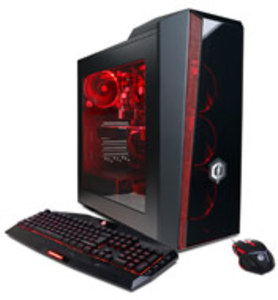 CyberPowerPC Gamer Master Desktop AMD Ryzen 7 1700X, GeForce GTX 1070, 16GB RAM, 120GB SSD + 1TB HDD