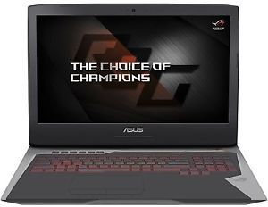 Asus G752VS Core i7-6820HK, 64GB RAM, 1TB HDD + 512GB SSD, GeForce GTX 1070, 1080p G-Sync