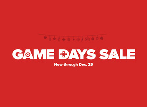 GameStop Game Days Sale