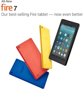 Fire HD 7 Tablet with Alexa 8GB with Special Offers (Requires Prime)