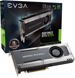 EVGA GeForce GTX 1070 Ti Gaming GDDR5 8GB Video Card