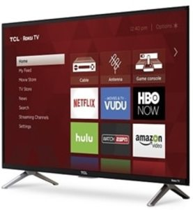 TCL 43S405 43-inch 4K Ultra HD Roku Smart TV (Refurbished)