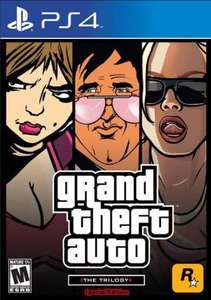 Grand Theft Auto Trilogy (PS4 Download) - PS Plus Required