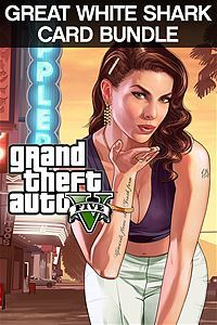 Grand Theft Auto V & Great White Shark Cash Card (Xbox One Download)