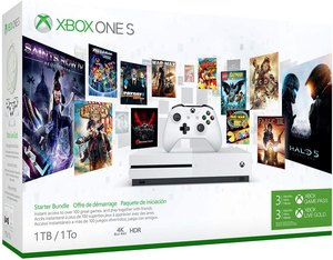 Xbox One S 500GB Starter Bundle + 2 Free Games
