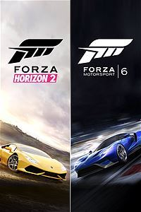 Forza Motorsport 6 and Forza Horizon 2 Bundle (Xbox One Download) - Gold Required