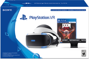 PlayStation VR Doom VFR Bundle + RE7 + Dualshock 4 Controller
