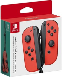 Nintendo Switch Neon-Red Joy-Con (L-R)