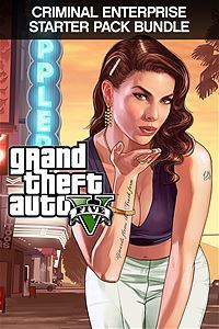 Grand Theft Auto V and Criminal Enterprise Starter Pack Bundle(Xbox One Download)