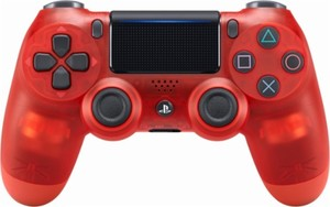 PS4 DualShock 4 Wireless Controller (Red Crystal)