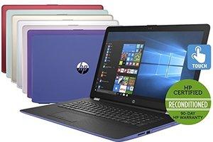 HP 17-AK000 Touch, AMD A9-9420, 4GB RAM, 1TB HDD (Refurbished)