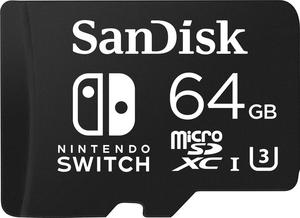 SanDisk 64GB microSDXC Memory Card for Nintendo Switch