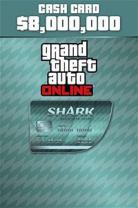 Megalodon Shark Cash Card ($8,000,000 - Xbox One Download) - Gold Required