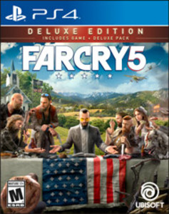 Far Cry 5 Deluxe Edition (PS4 Download)