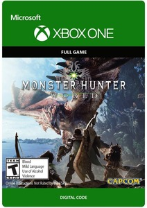 Monster Hunter World Digital Deluxe Edition (Xbox One Download) - Gold Required