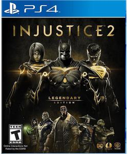 Injustice 2 Legendary Edition (PS4 Download) - PS Plus Required