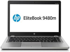HP EliteBook Folio 9480m, Core i7-4600U, 8GB RAM, 256GB SSD (Refurbished)