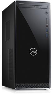 Dell Inspiron 3670 Desktop, Core i7-8700, 8GB RAM, 1TB HDD + 16GB Optane