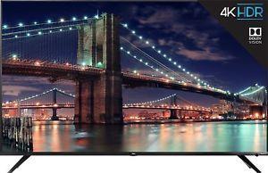 TCL 55R617 55-inch 4K HDR Dolby Vision Roku Smart TV (Refurbished)